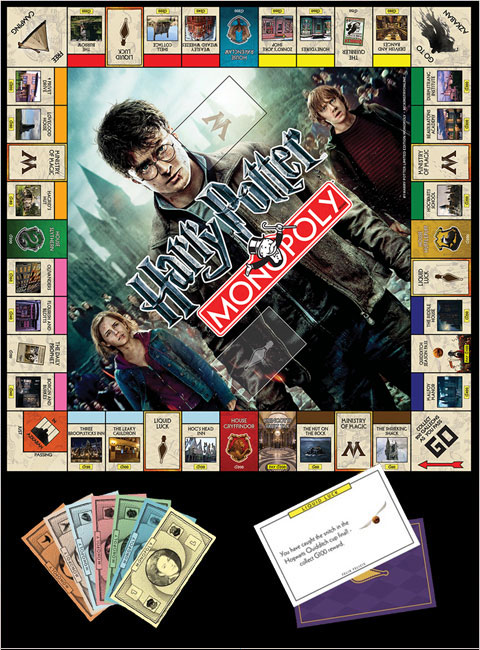 Harry Potter Monopoly Limited Edition