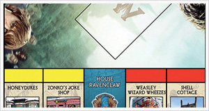 Harry potter Monopoly Edition